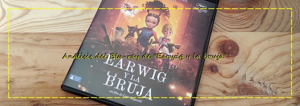 """Análisis del Blu-ray de """"Earwig y la bruja"""" (VértigoFilms)"""